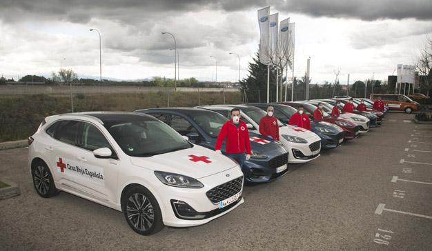 Ford y BBVA hacen equipo con Cruz Roja