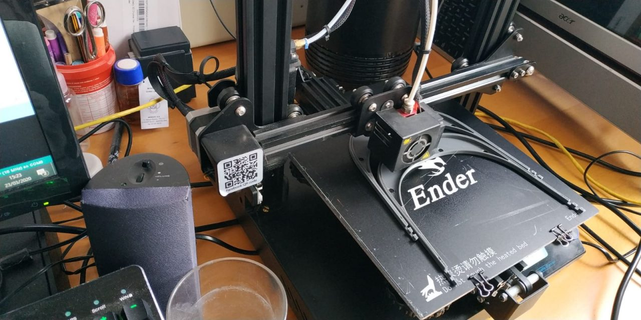 viseras protectoras con impresoras 3d