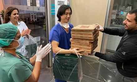Alimentar al personal sanitario de manera gratuita