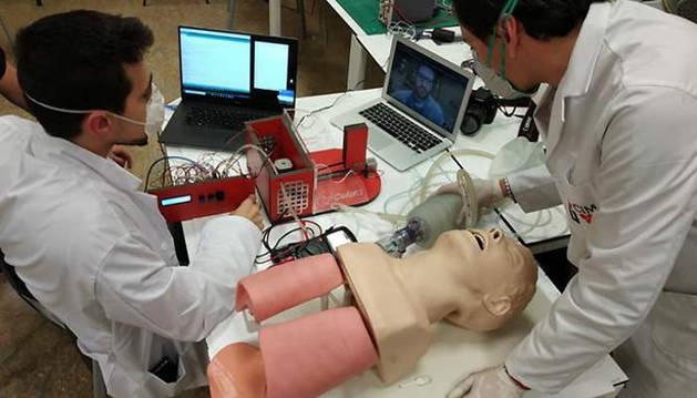 médico pamplonés diseña un respirador artificial para pacientes con coronavirus